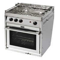 Force 10 Kocher mit Backofen 3-flammig