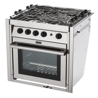 Force 10 Kocher mit Backofen 4-flammig