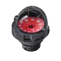 Plastimo COMPASS OLYMPIC 135 BLK,C.RED Z/A
